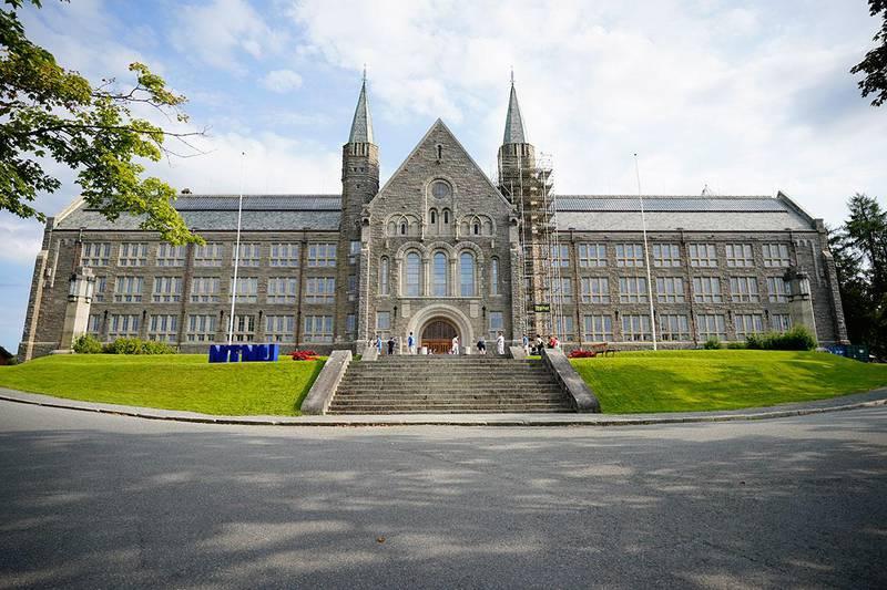 Bildet viser universitetet NTNU i Trondheim.