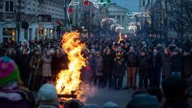 Litauen feirer 30 år som selvstendig land