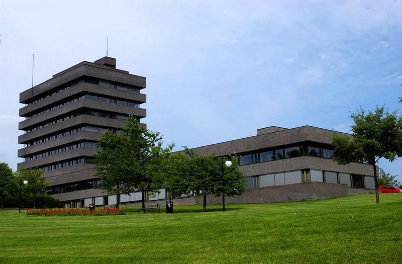 Bildet viser rådhuset i Asker.