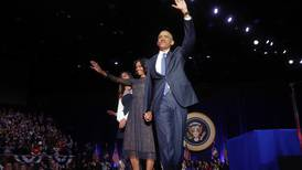 Rørt Obama takket for seg