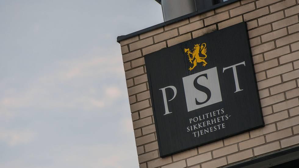 Bildet viser bygningen til PST i Oslo.