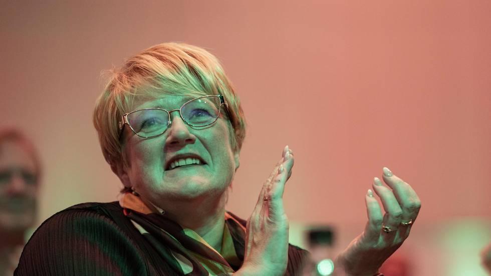 Bildet viser politiker Trine Skei Grande.