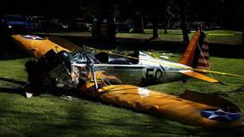 Skuespiller skadd i flyulykke