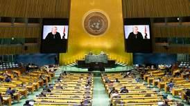 Statsministerens siste tale i FN