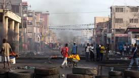 Demonstrerer mot presidenten i Haiti