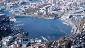 Bergen er byen med renest luft i Norge