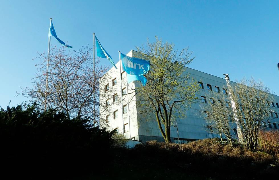 Bildet viser hovedkontoret til NRK på Marienlyst i Oslo.