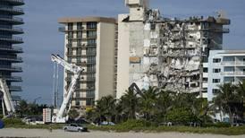 Store skader oppdaget på bygning i Miami