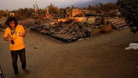Skogbrann truer boliger nær Los Angeles