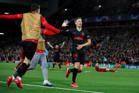 Atlético Madrid vant dramatisk kamp