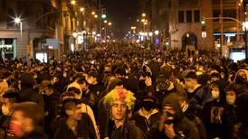 Voldelige opptøyer i Spania