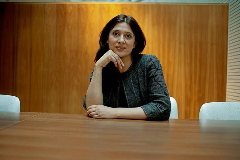 Bildet viser Loveleen Brenna. Hun mener innvandrere får for dårlig informasjon under korona-krisen.