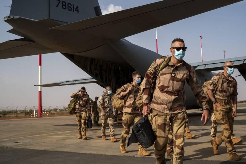 Franske soldater ankommer Gao i Mali tidligere i juni. Foto: Jerome Delay / AP / NTB