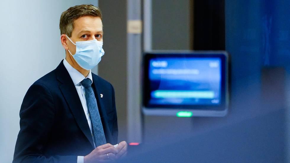 Bildet viser samferdselsminister Knut Arild Hareide.