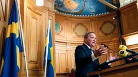Stefan Löfvens svenske regjering er klar