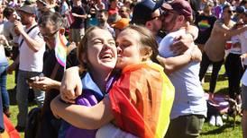 Slik feiret Australia at homofile får gifte seg