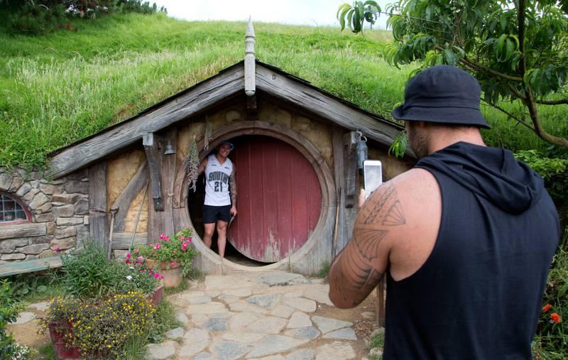 Turister besøker steder der Ringenes herre ble spilt inn.