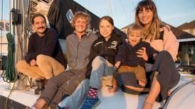 Greta Thunberg får skyss med båt til Spania