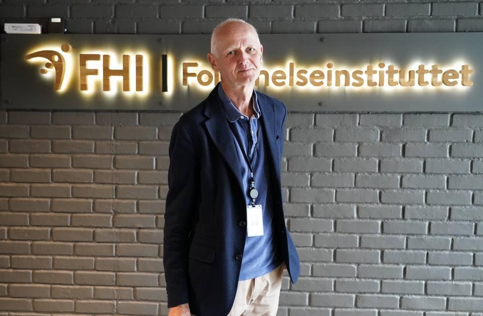 Smitteverndirektør Geir Bukholm i Folkehelseinstituttet. Foto: Gorm Kallestad / NTB