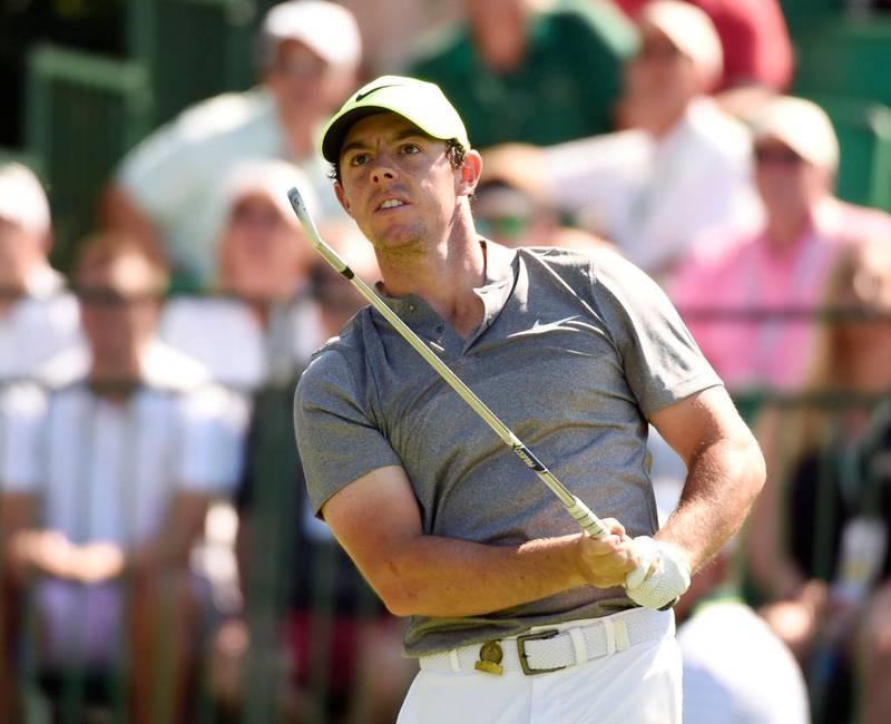 Bildet viser Rory McIlroy. Han er en av verdens beste golfspillere. Han dropper å spille golf i OL i Brasil.