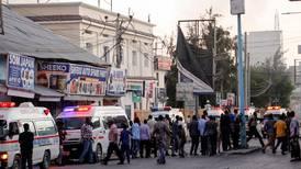 Mange ble drept i angrep på hotell i Somalia
