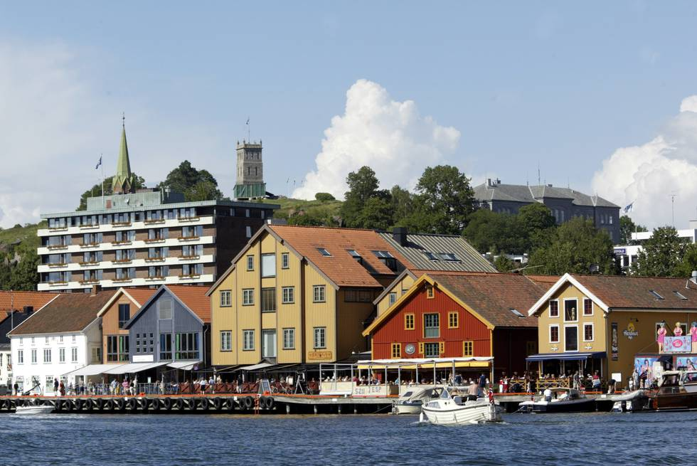 Det er registrert fem nye koronasmitta i Tønsberg kommune det siste døgnet. I nabokommunen Færder er det registrert like mange. Foto: Terje Bendiksby / NTB