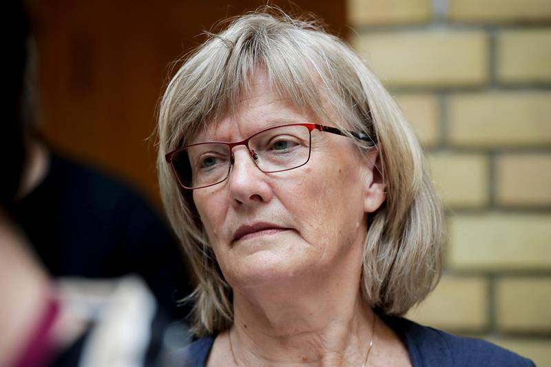 Bildet viser politiker Karin Andersen.