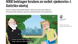 NRK fjerner jøde-sketsj