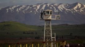Vil ha hastemøte om Golan-høydene