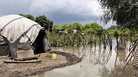 Store oversvømmelser i Sør-Sudan