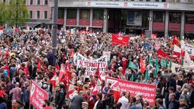 1. mai uten arbeiderne i gatene