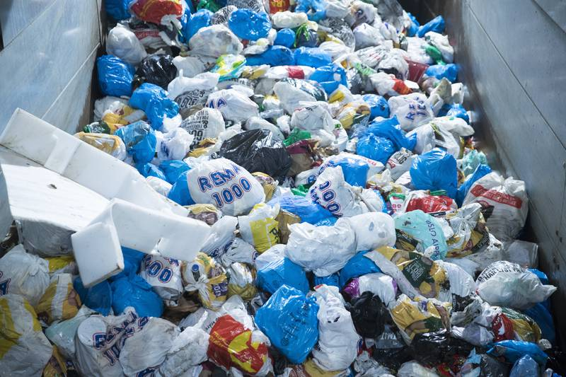 Internasjonale ekspertar har granska plasthandteringa i Noreg.  Foto: Terje Pedersen / NTB / NPK