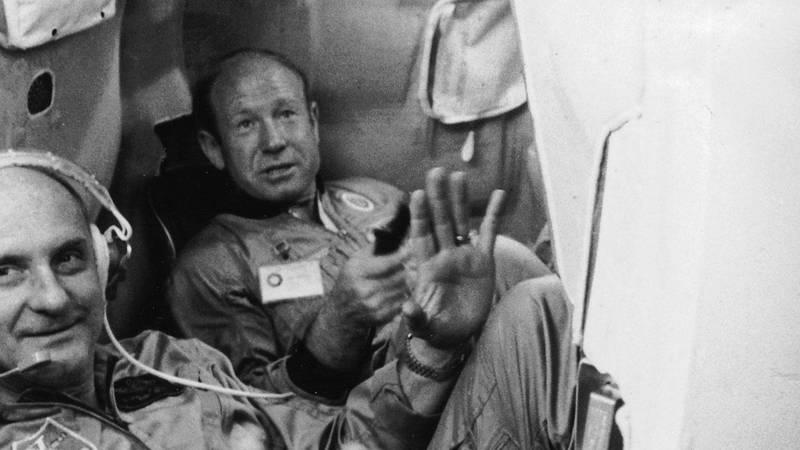 Bildet viser Aleksej Leonov på 1970-tallet.
