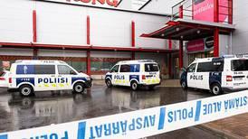 Angriperen i Finland er ikke avhørt ennå