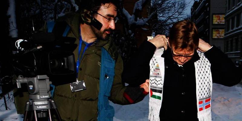 Bildet viser journalisten Ammar al-Hamdan . Han er løslatt fra fengsel i Libya. Den norske journalisten har sittet fengslet siden 7. mars. Han jobber for TV-kanalen Al Jazeera.