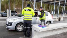 Politiet drar ut til korona-oppdrag