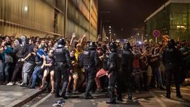 Mange skadd i uro i Barcelona