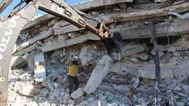 Mange barn ble drept i Syria